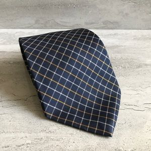 LAUREN Ralph Lauren 100% Silk tie plaid